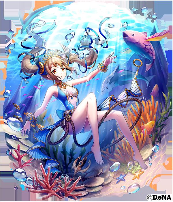 ウェパル専用衣装「人魚の夏休み」